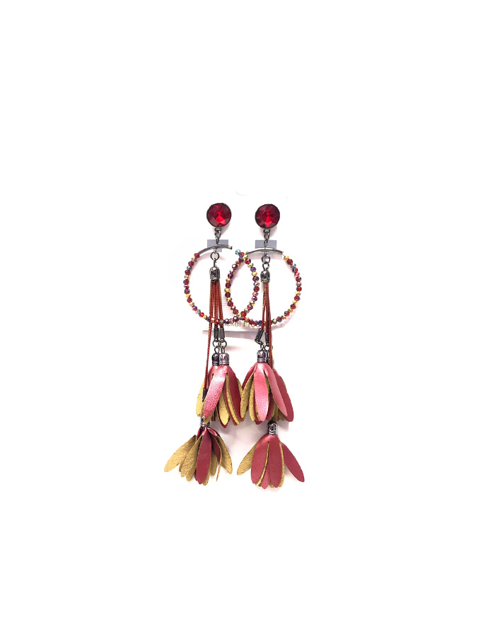 ΣΚΟΥΛΑΡΙΚΙΑ ΜΑΚΡΙΑ ΚΟΚΚΙΝΑ ΣΤΡΑΣ ΚΟΚΚΙΝΟ ΦΟΥΝΤΑ – Queen Accessories ... 037053443a2